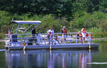 Free Pontoon Ride at The Lagoons of Presque Isle State Park, Erie PA