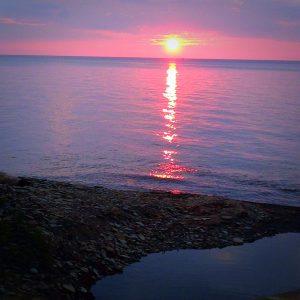 Sunset, Woodmere Beach